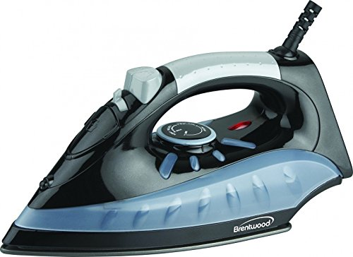 Brand New Brentwood Non-stick Steam/dry, Spray Iron In Black [mpi-62] - 1200 W - Black