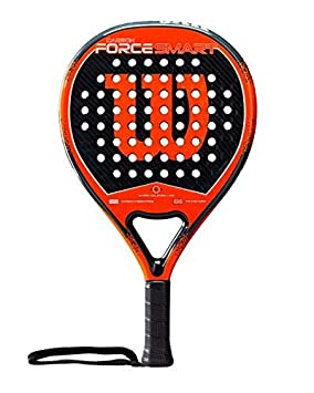 WILSON Carbon Force Smart Paddle Racket, Adultos Unisex, Black/Orange, One Size: Amazon.es: Deportes y aire libre
