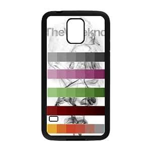 The Weeknd Xo 004 funda Samsung Galaxy S5 Negro de la cubierta del teléfono celular de la cubierta del caso funda EVAXLKNBC12873