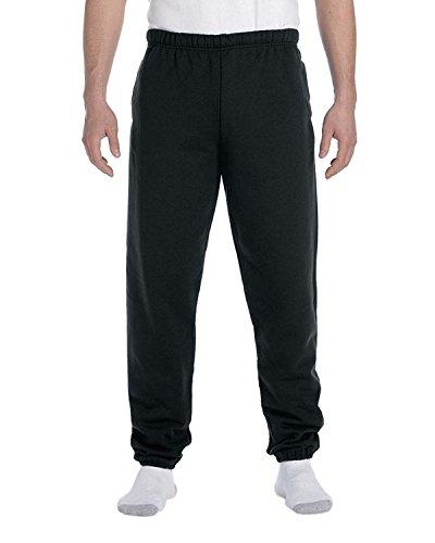 - Jerzees Men's Elastic Waist High Stitch Pocket Sweatpant, Blk, Medium