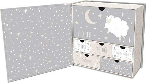 Lady Jayne Babys First Memory Keepsake Box (Star Sheep) ()