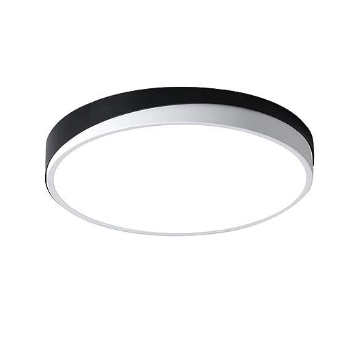 Ultradelgado LED Lámpara de Techo Redondo Iluminación de Techo ...