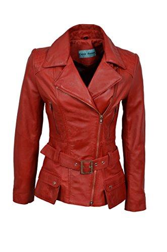 Smart Range Veste pour Femme Rouge Rouge