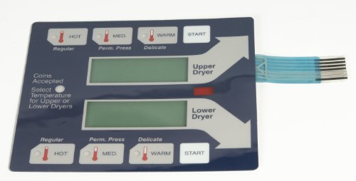 Where to buy Dexter Stack Dryer 9801-059-004/5/6 Blue Keypad 922841