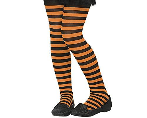 Atosa 59296 Collants Orange/Noir Taille Unique