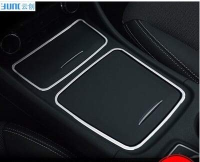 Alina-Shops - Storage Cover +Cigarette Ashtray Panel For Mercedes Benz CLA C117 W117 2014 2015 by Alina-Shops (Image #6)