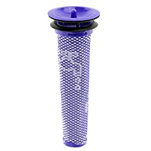 SPARES2GO Washable Pre Motor Stick Filter for Dyson DC58 DC59 DC61 DC62 V6 V8 Animal Vacuum Cleaner
