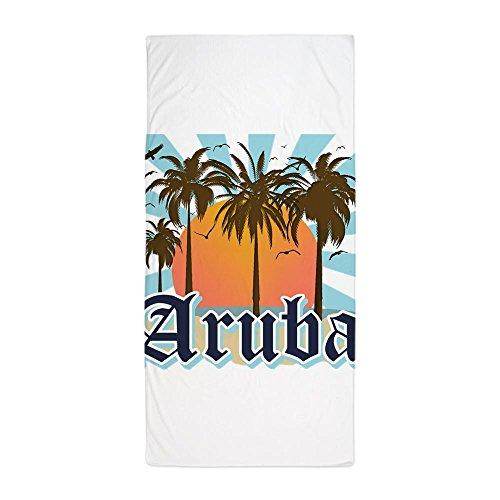 CafePress Aruba Caribbean Island Large Beach Towel, Soft 30