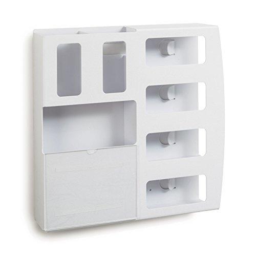 - White ABS Quad Isolation Station 22.875