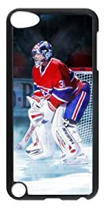 icasepersonalized Personalized Protective Case for iPod Touch 5 - NHL Montreal Canadiens CAREY PRICE IN THE SPOTLIGHT