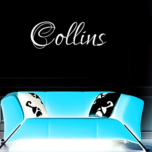 Cullen Vinyl (Cullen girl name boy name letters childrens room VINYL WALL ART STICKER DECAL)