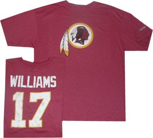 Reebok Washington Redskins Doug Williams Throwback Pro Style T Shirt (Small) cc719f45e