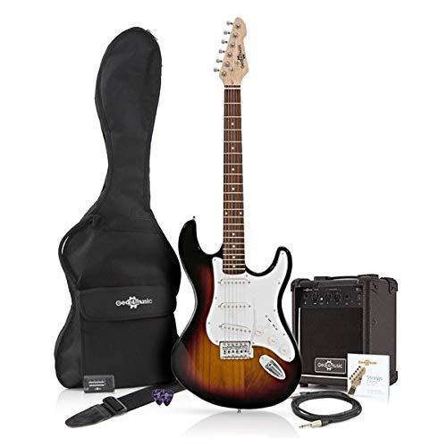 Guitarra Eléctrica LA + Amplificador Sunburst