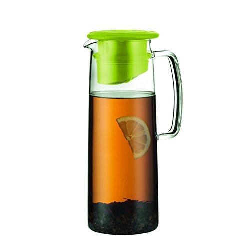 Bodum Biasca Ice Green Tea Jug, 40 oz, Green