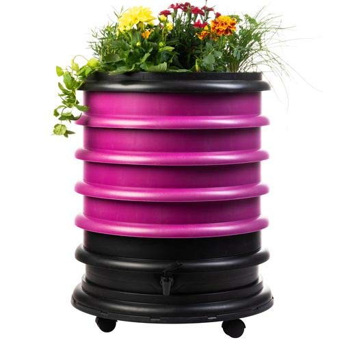 WormBox : Vermicompostador 2 bandejas Beige - 32 litros