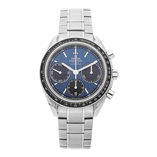 Omega Speedmaster Mechanical (Automatic) Blue Dial Mens Watch 326.30.40.50.03.001 (Certified ()