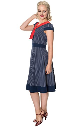 DRESS INSIDER Days navy 5337 THE Dancing by Kleid Navy Banned gXZYAZ