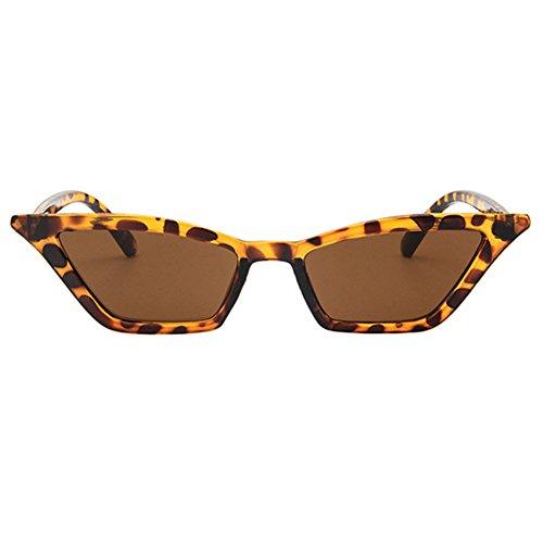 Rétro Vintage chat Classique soleil Leopard Deylaying Œil de Solaires  Miroir de Petit Lens UV400 Lunettes ... 6156e64fbe72