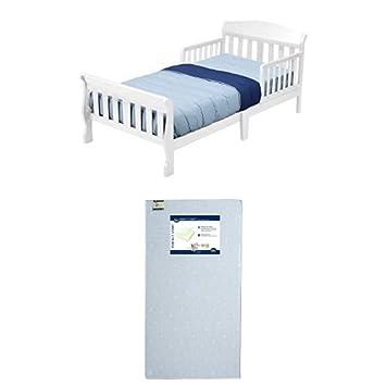 Delta Children Canton Toddler Bed, White 7181-100