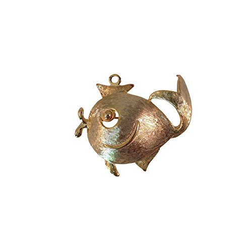 Vintage Fish Pin (Big, Bold and Beautiful Brooches and Pins Jewelry Collection,Rhinestone, Cristal and Vintage Brooches (Fish Princess brooch))