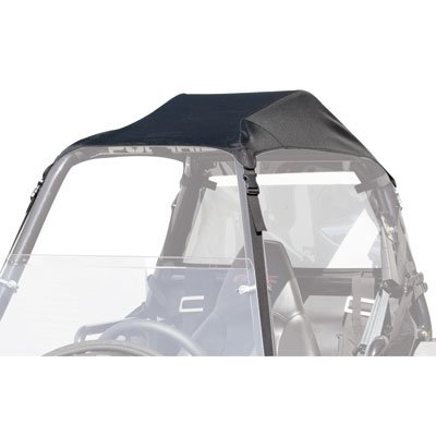 Tusk UTV Fabric Roof Black -Fits: Polaris SPORTSMAN ACE 325 2014-2016