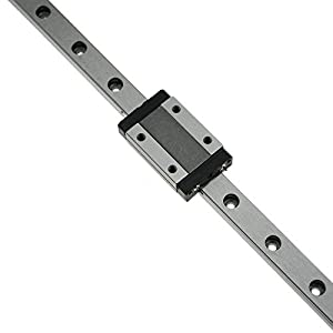 CNC part MR12 12mm linear rail guide MGN12 length 200mm with mini MGN12H linear block carriage miniature linear motion guide way (press the block to slide) by CN