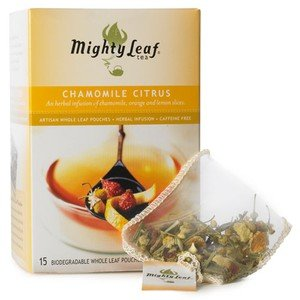 Mighty Leaf Chamomile Citrus 15CT - 2 Boxes