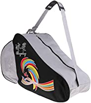 Prettyia Waterproof Storage Bag for Inline Roller Skating Boots Shoes Skates Helmet Protective Gears - Compart