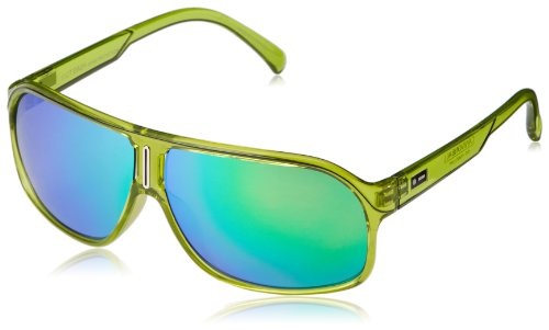 Dot Dash Cannonball Oval Sunglasses,Lime Translucent,62 - Dot Sunglasses Dash