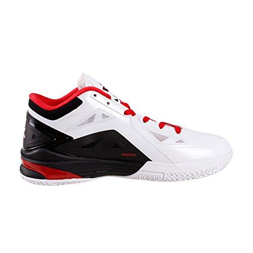Picco Mens Nba Player Esclusivo Scarpe Da Basket George Hill Lightning Ii Bianco / Nero