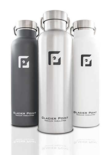 Glacier-Point-Vacuum-Insulated-Stainless-Steel-Water-Bottle-25-OZ--Double-Walled-Construction-Powder-Coating-Zero-Condensation