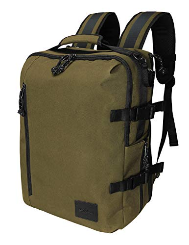 Rangeland Compact Travel Carry-on Camera Backpack for Photographers for DSLR, Mirrorless Cameras, Laptop, Passport, Tripod, Lenses, Accessories and Personal Items