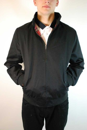 Merc London - Blouson Harrington - rétro/mod - noir