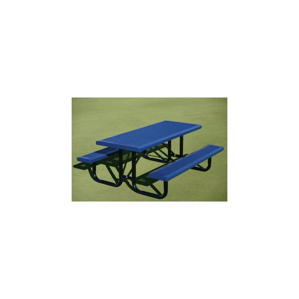 Webcoat T4INFUP 4 ft. Table  .75 in. 9 Expanded Metal   Portable