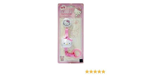 Sanrio Hello Kitty Cadena para Chupete de bebe con Tapa de ...