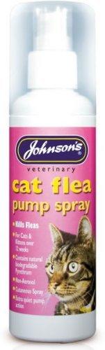 Katze Floh Pumpe Spray-Johnsons 100ml (TP) (jcfsp)