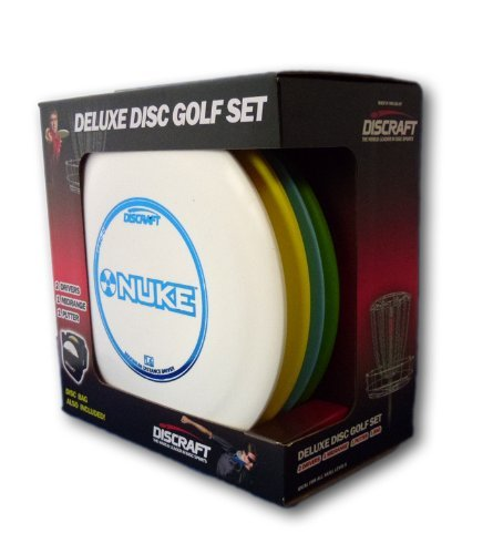 Discraft Deluxe Disc Golf Set (4 Disc and Bag) by Discraft by Discraft (Image #1)