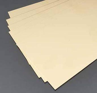 W X 10 In X 4 In L Brass  Sheet Metal Pack Of 6 K/&S  0.01 In