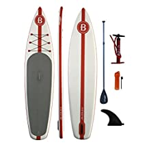 """Bright Blue Stand Up Paddle board 11'6"""" Inflatable SUP"""