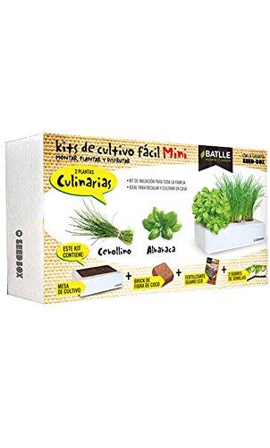Huerto Urbano - Seed Box Mini Culinarias - Batlle Semillas Batlle 160113UNID