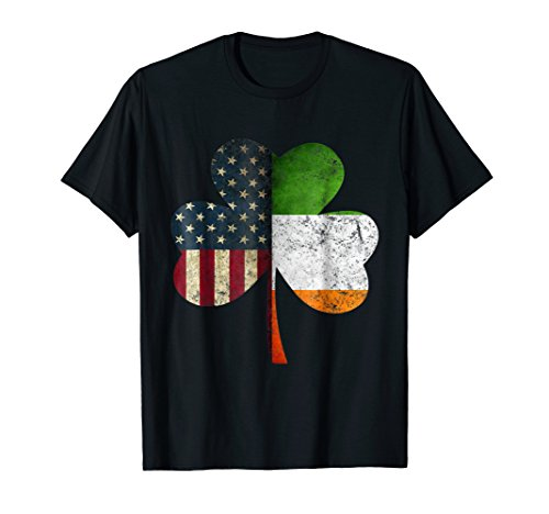 IRISH AMERICAN Flag Shamrock St. Patrick's Day ()