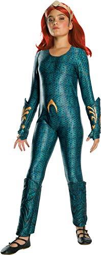 Rubie's Girls Aquaman Movie Child's Deluxe Mera Costume, Medium]()