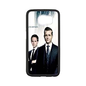 Suits Cast Samsung Galaxy S6 Cell Phone Case White Exquisite gift (SA_611162)