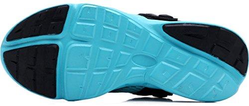 Mules Marchant Chaussures Unisexe Allaitement Été Bleu Plage Respirant Net Chaussons Chaussures Femme Chaussures Sandales Yying sur Jardin Engrener en Homme Glisser Antidérapant Clogs 1HawUqAS