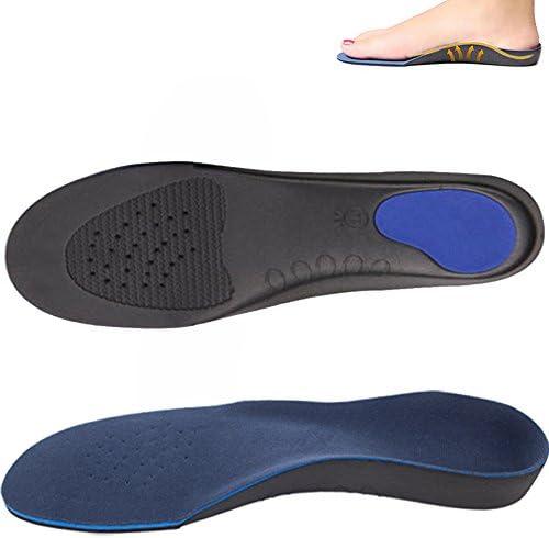 Unisex Orthopädische Einlegesohle für Flache Fuß, Männer Frauen Orthesen Einlegesohlen Einlage Pad Schuhe Sohle für Stoßdämpfung, Fußbogenstütze, Entlasten Fußschmerzen und Plantar Fasciitis