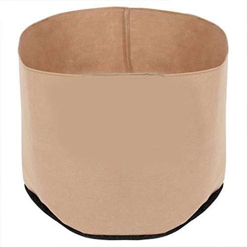 Pot 45 Gallon, Tan Round, Case of 50 by Essential Pot