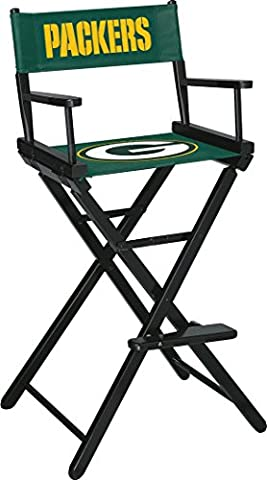 Imperial Officially Licensed NFL Merchandise: Directors Chair (Tall, Bar Height), Green Bay Packers - Imperial International Green