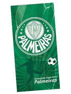 Sociedade Esportiva Palmeiras 02, Brazilian Soccer Team, Velour Beach Towel, 30'' x 60'', MADE IN BRAZIL by Sociedade Esportiva Palmeiras