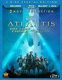 ATLANTIS-LOST EMPIRE/MILOS RETURN 2-MOVIE COLL (BLU-RAY/DVD-2/WS) ATLANTIS-LOST EMPIRE/MILOS RETURN