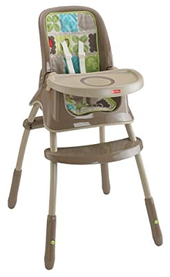 Fisher-Price Grow with Me High Chair, Rainforest Friends from Fisher-Price